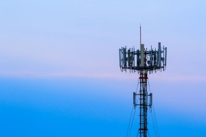 Tower Ventures Cellular Towers on blue sky